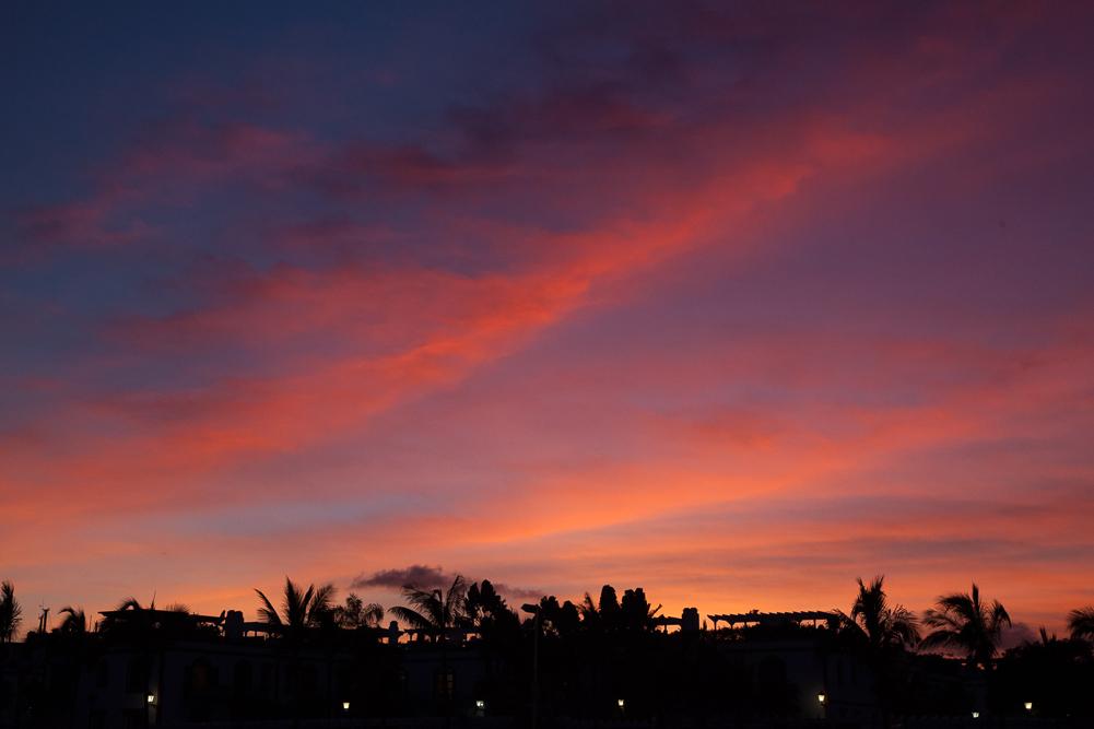 Trochę słońca z Puerto de Mogan