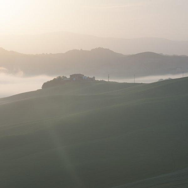 Toskańskie mgły